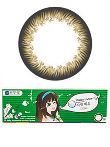 韩国科尔视格言日抛隐形眼镜10片装