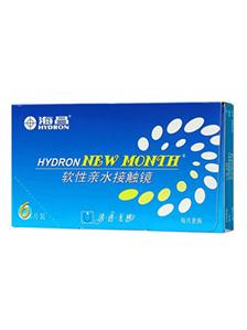 海昌HYDRON NEW MONTH NV隱形眼鏡月拋6片裝