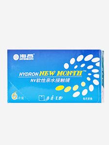 海昌HYDRON NEW MONTH NV隐形眼镜月抛6片装