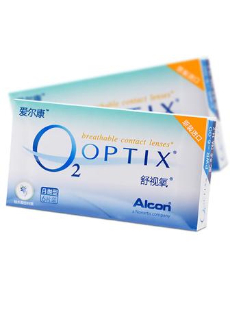 视康爱尔康舒适氧O2OPTIX 6片装