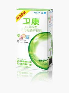 卫康润视清凉型保养液 500ml+125ml