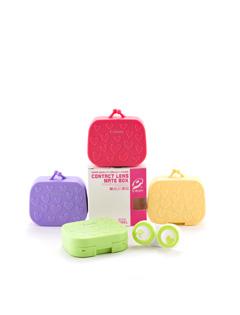 凯达爱心小提包隐形眼镜伴侣盒-8029(颜色随机)