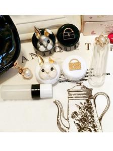 黑色化妆包合金兔子伴侣护理盒